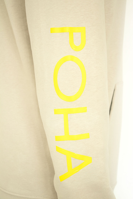 POHA hoodie sleeve